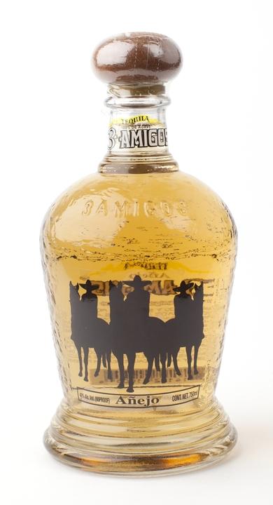 Bottle of 3 Amigos Añejo