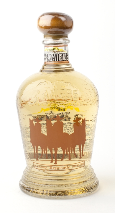 Bottle of 3 Amigos Reposado