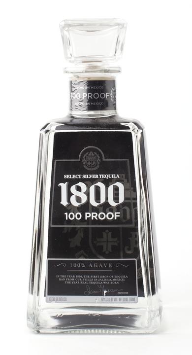 Bottle of 1800 Black Label Select Silver