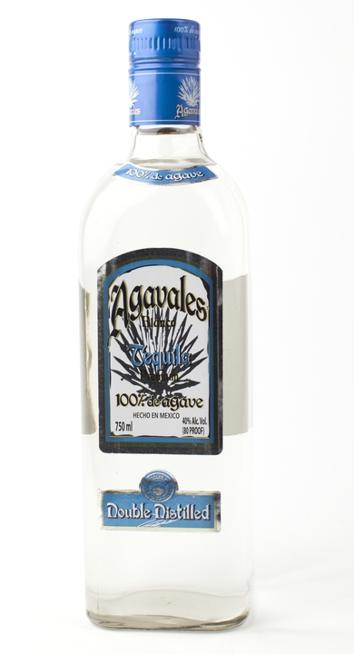 Bottle of Agavales Blanco Tequila