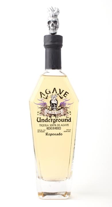 Bottle of Agave Underground Reposado