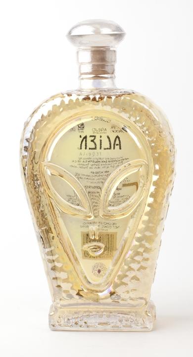 Bottle of Alien Añejo