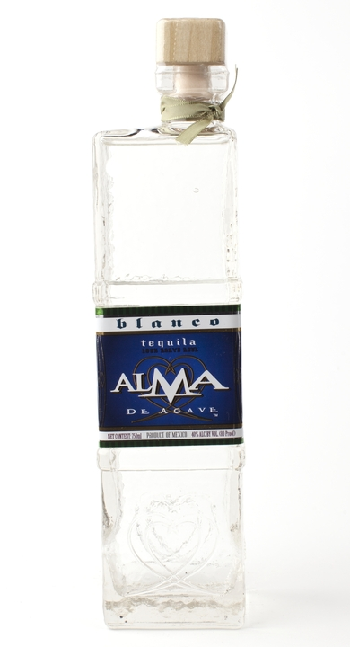 Bottle of Alma de Agave Silver