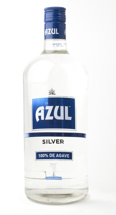 Bottle of Gran Centenario Azul Silver
