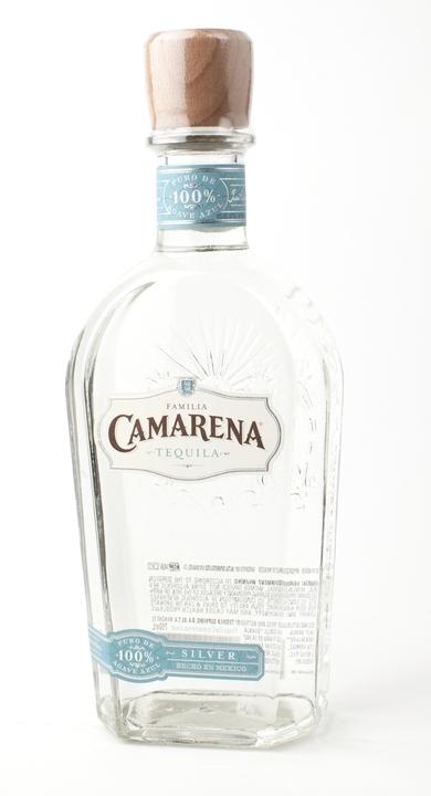 Bottle of Camarena Silver Tequila