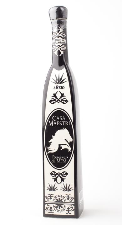 Bottle of Casa Maestri Reserva de MFM Añejo