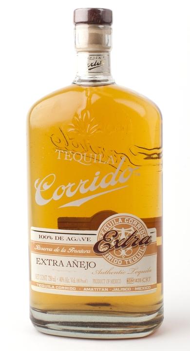 Bottle of Corrido Extra Añejo