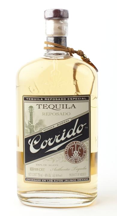 Bottle of Corrido Reposado