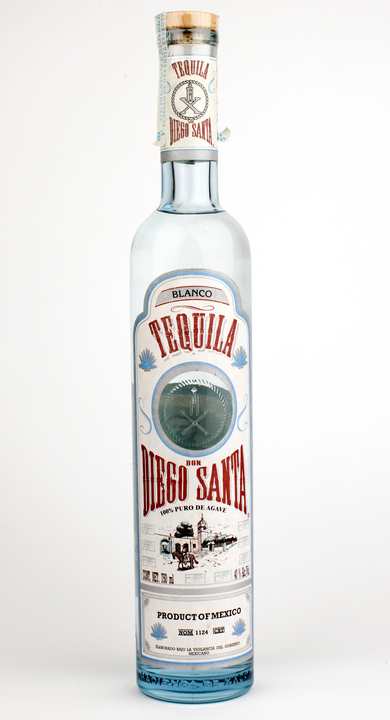 Bottle of Don Diego Santa Blanco