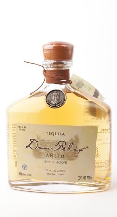 Bottle of Don Felix Añejo