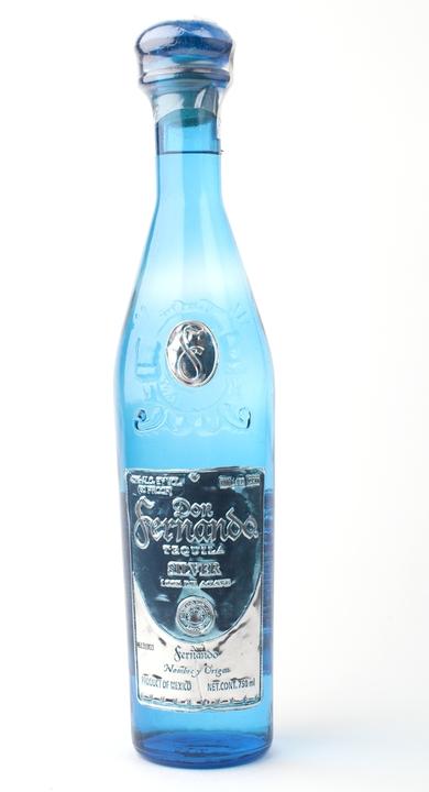 Bottle of Don Fernando Silver