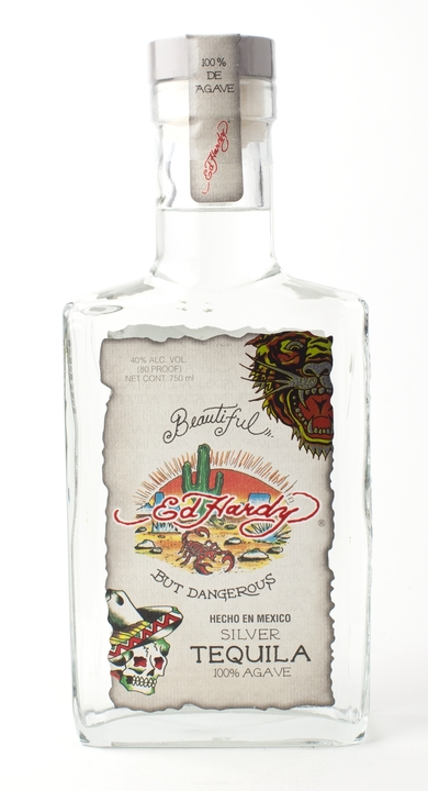 Bottle of Ed Hardy Silver