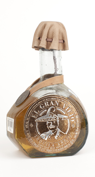 Bottle of El Gran Viejo Añejo (100% Agave)