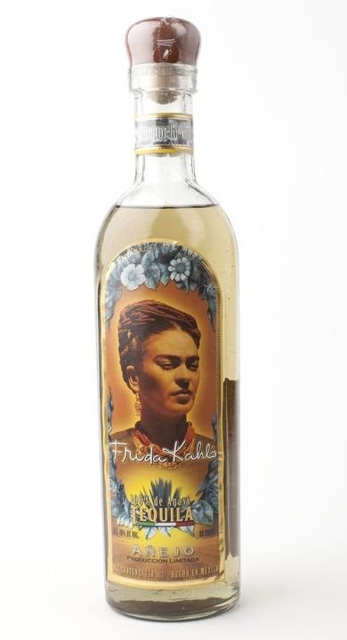 Bottle of Frida Kahlo Tequila Añejo