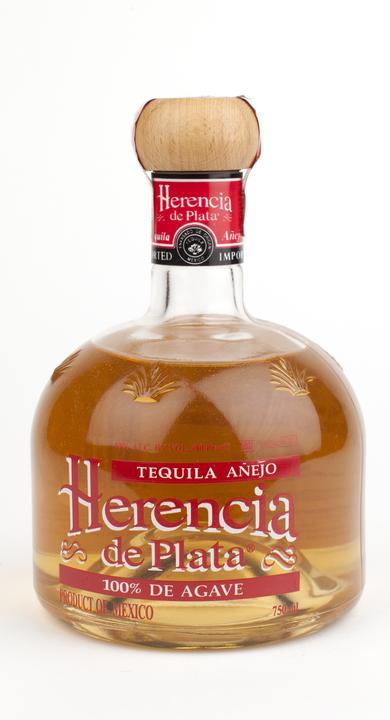 Bottle of Herencia de Plata Añejo