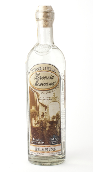 Bottle of Herencia Mexicana Blanco