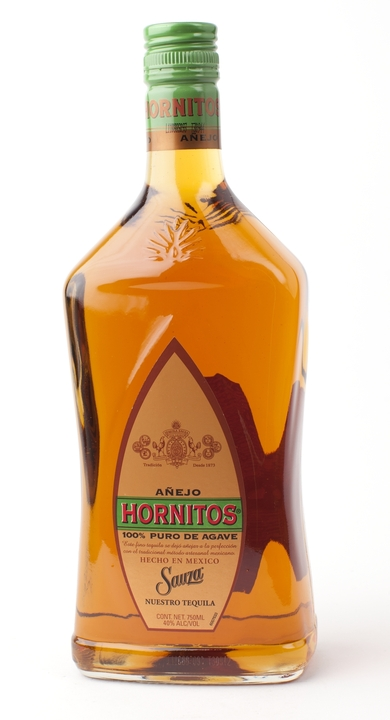 Bottle of Sauza Hornitos Añejo