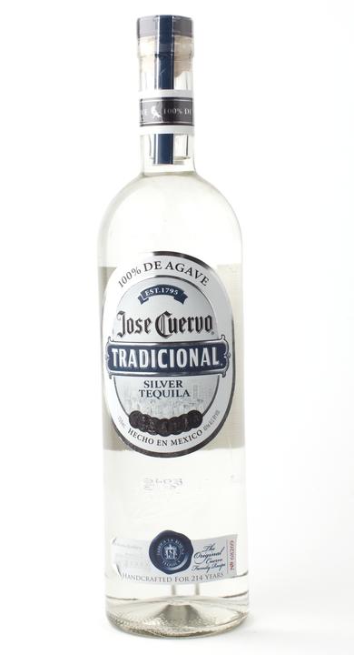 Bottle of Jose Cuervo Tradicional Silver