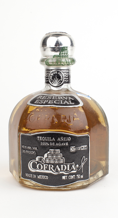Bottle of La Cofradia Añejo