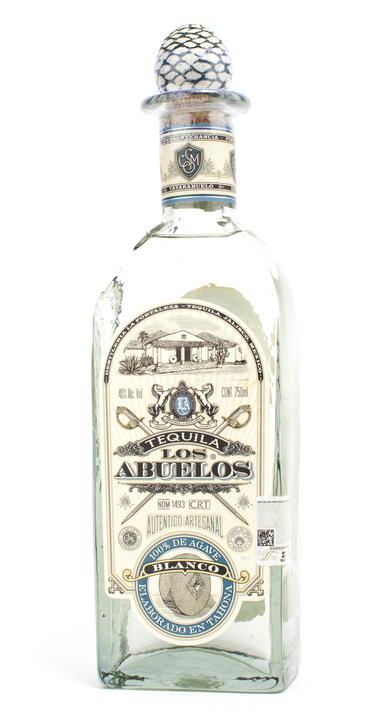Bottle of Los Abuelos Blanco