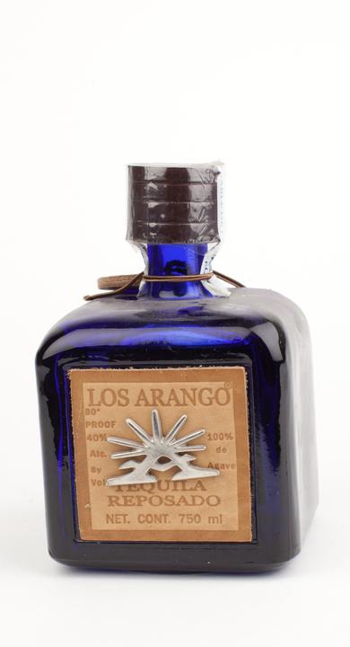 Bottle of Los Arango Reposado