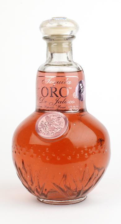 Bottle of Oro de Jalisco Reposado Rosse