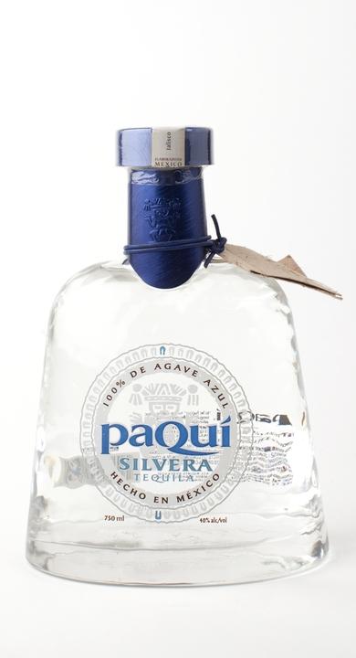 Bottle of paQui Silvera