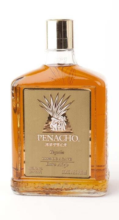 Bottle of Penacho Azteca Extra Añejo