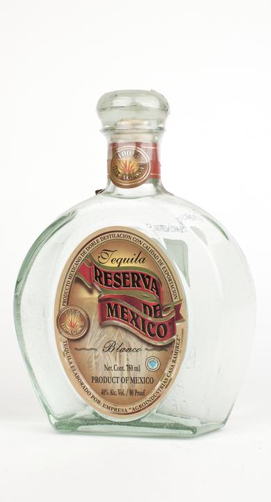 Bottle of Reserva de Mexico Blanco