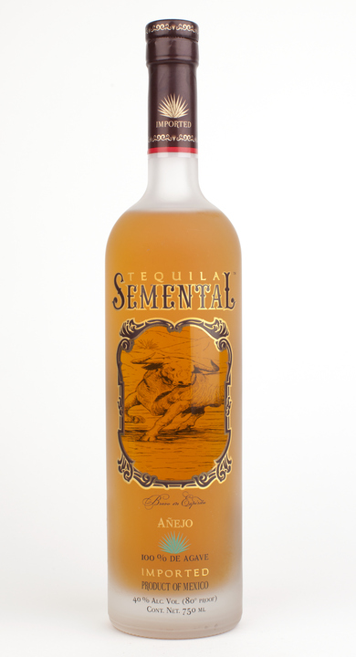 Bottle of Semental Añejo