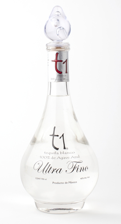 Bottle of t1 Blanco Ultra-Fino