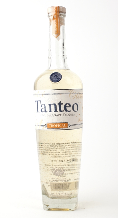 Bottle of Tanteo Tropical