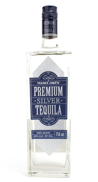 Bottle of Trader Jose's Premium Silver
