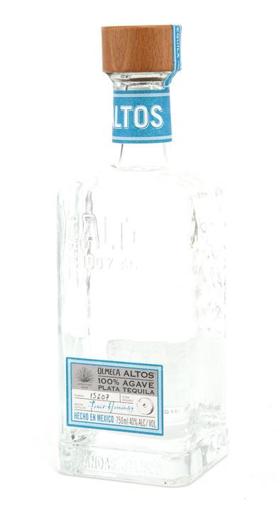 Bottle of Olmeca Altos Plata