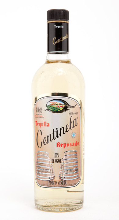 Bottle of Centinela Reposado