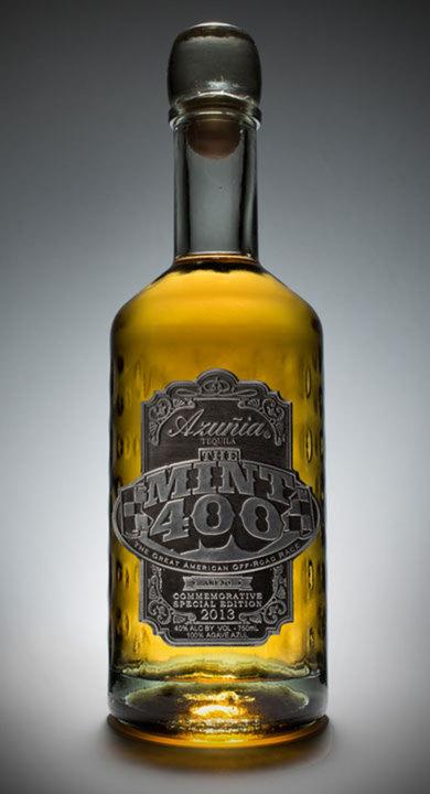 Bottle of Azunia Tequila 2013 Mint 400