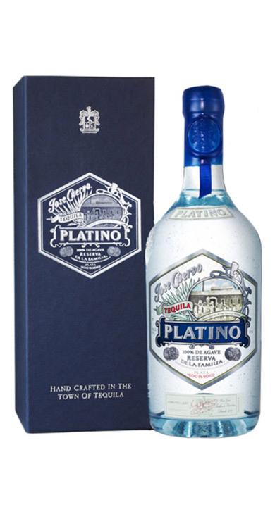 Bottle of Familia Cuervo Platino Reserve