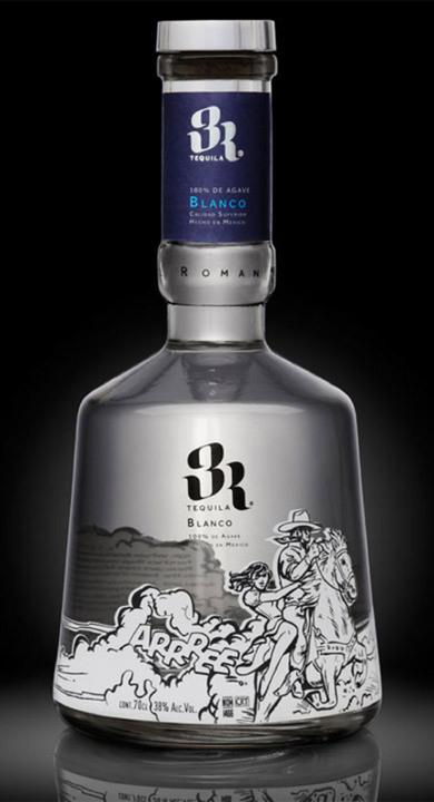 Bottle of 3R Blanco