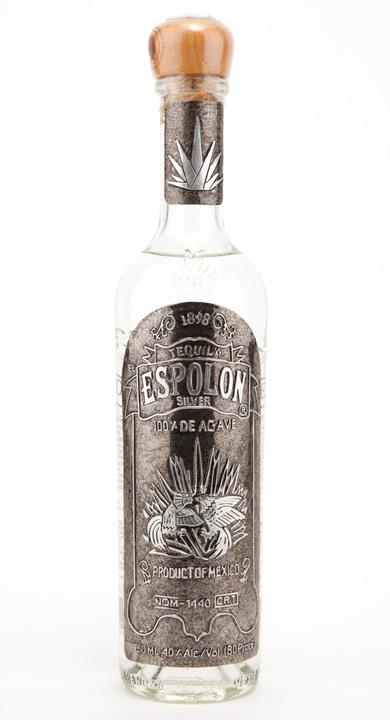 Espolon Silver Foil Label Tequila Matchmaker