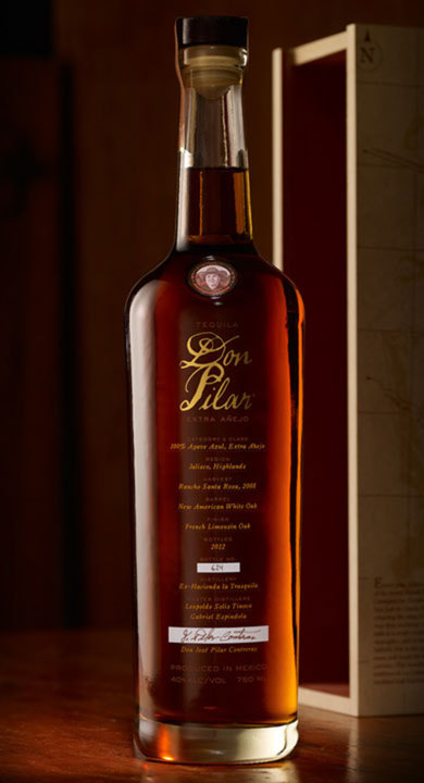 Bottle of Don Pilar Extra Añejo