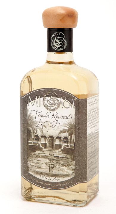 Bottle of Mi Casa Reposado