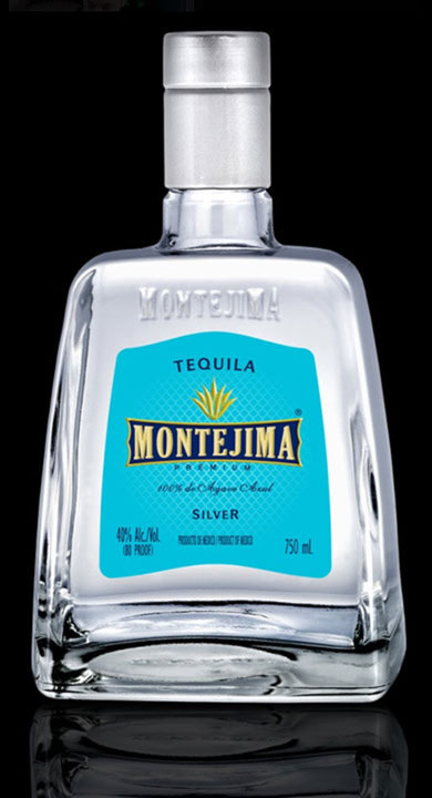 Bottle of Montejima Tequila Silver