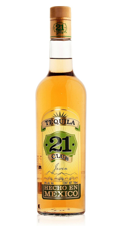 Bottle of Club 21 Tequila Joven