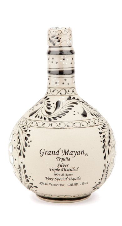 Bottle of Grand Mayan Silver