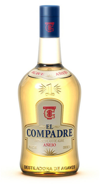 Bottle of El Compadre Añejo