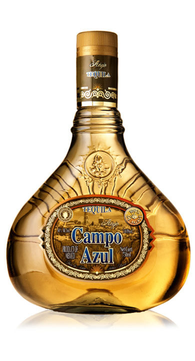 Bottle of Campo Azul Añejo