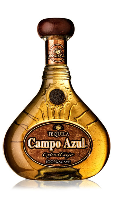 Bottle of Campo Azul Gran Reserva Extra Añejo