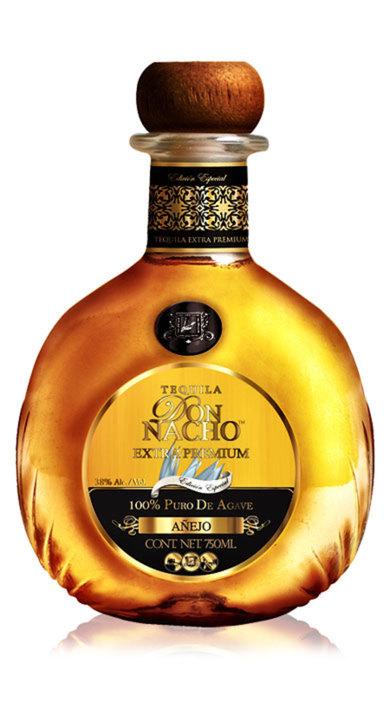 Bottle of Don Nacho Extra Premium Añejo
