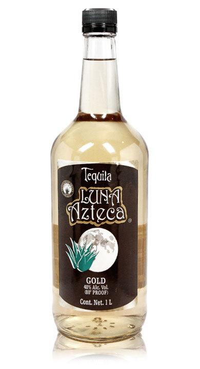 Bottle of Luna Azteca Gold