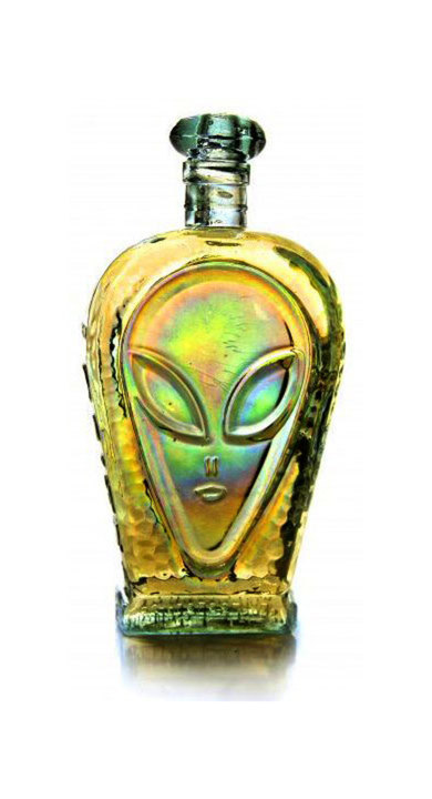 Bottle of Alien Extra Añejo